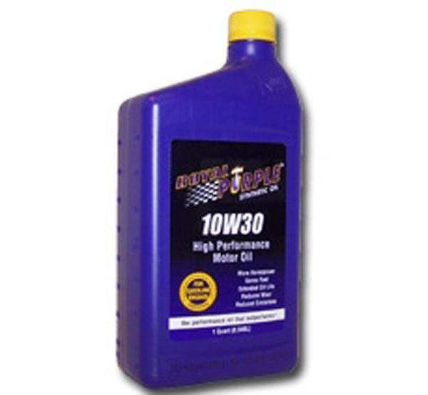 1 Qt 10w30 Royal Purple Motor Oil