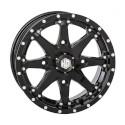 14x7 4/110 5+2 HD10 Gloss Black