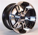 14x6, 4/156, 4+2 ITP SS112 Alloy Machined Wheel Front