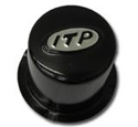 ITP Black Wheel Center Cap