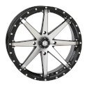 20x7 4/156 4+3 HD10 Gloss Black / Machined