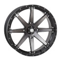 20x7 4/156 4+3 HD10 Matte Black / Smoke