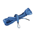 "Viper 1/4"""" x 40' AmSteel-Blue Synthetic Rope (Blue) and Hawse Fairlead Upgrade for Viper Max Winches"