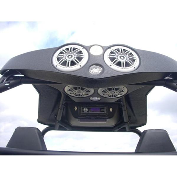 AudioFormz Top for Polaris RZR, RZR , RZR 900 XP (08-12) with 4 6 5