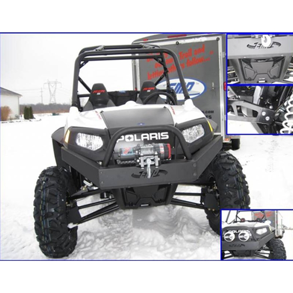 Emp Front Winch Bumper With High Lifter Logo For Polaris