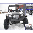 EMP Front Winch Bumper with High Lifter Logo for Polaris RZR 800, RZR , RZR , RZR 570