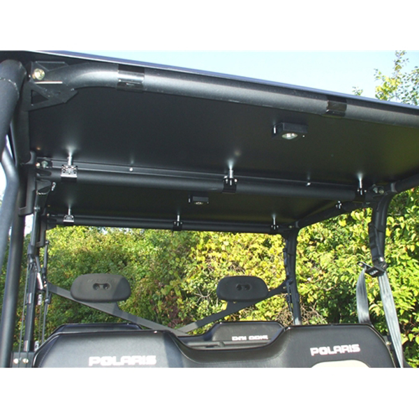 Emp Hard Top Roof With 2 Led Dome Lights For Polaris