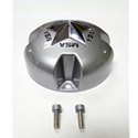 MotoSport Alloys Silver Cap with Chrome Star