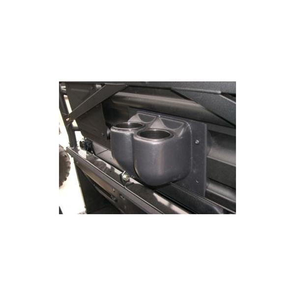 Side By Side Utv >> Salient Designs Rear Seat Beverage Holder for Polaris ...