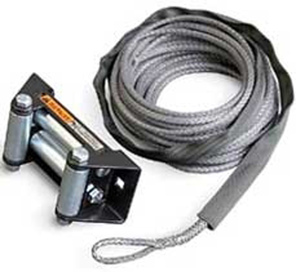 WARN Synthetic ATV Winch Rope Kit with Roller Fairlead 50' of 3/16