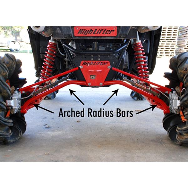 Lower Radius Bar Kit for Polaris RZR 900 XP, RZR 900 XP