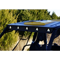 AudioFormz Yellow and Black Fiberglass Top for Can-Am Commander 800/1000 (11-12)