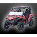 AudioFormz Red and Black Fiberglass Top for Can-Am Commander 800/1000 (11-12)