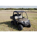 "AudioFormz Black Top Polaris Ranger 500 (2010), Ranger 800 (10-12) w/Stereo Cutouts & Molded 6.5"""" Speaker Cutouts"