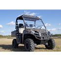 "AudioFormz Black Top for Polaris Ranger 500 (2010), Ranger 800 (10-12) with Stereo Cutouts & Molded 6x9"""" Speaker Cutouts"