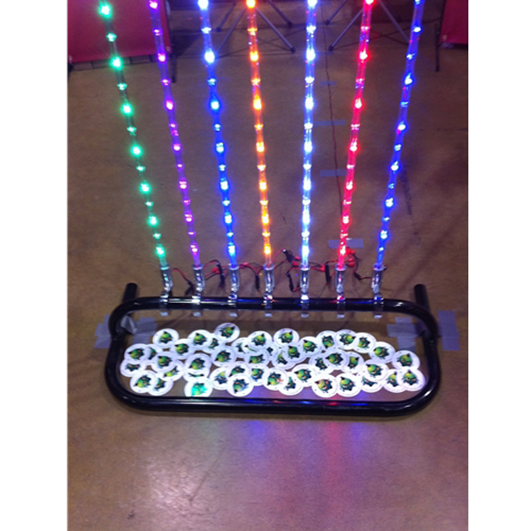 Plastic Light Covers >> Tribal Whips 4' Red, White & Blue LED Lighted Whip with ...