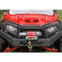 EMP Front Winch Bumper with Headlight Protection Bars for Polaris RZR 570/800, RZR , RZR