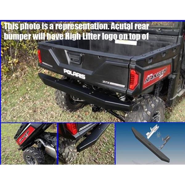 Emp Rear Bumper Polaris Ranger 900 Xp