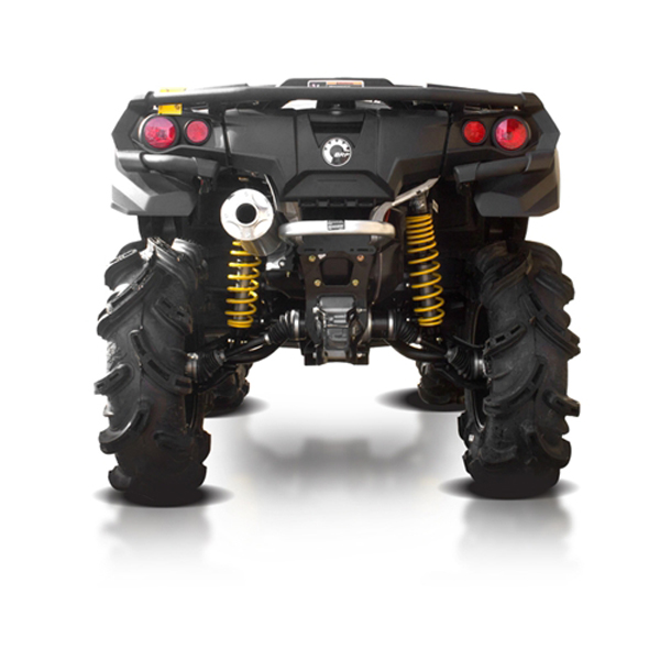 Can Am Outlander 1000 Xmr >> Hmf Exhaust Swamp Series Full System For Can Am Outlander 1000 Max Xmr