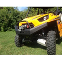 Front Winch Bumper with High Lifter Logo for Kawasaki Teryx 2 Seater (2014) and Teryx 4 (12-14)