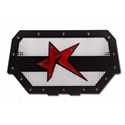 Rogue Offroad RZR 1000 Grill - Black/White/Red