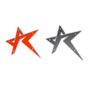 Rogue Offroad Star Emblem - Red