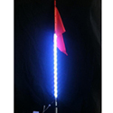 3' LED Light Whip With 16 Color Options/4 Flash Patterns w/Wireless Remote