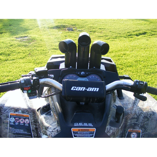 Can Am Outlander 1000 Xmr >> Triangle ATV Snorkel Riser Kit for Can-Am Outlander XMR 1000