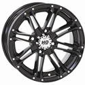 STI - 14 x 7 4/110 2+5 STI (HD3 Gloss Black)