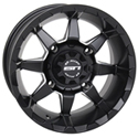 STI - 14 x 7 4/110 5+2 (HD6 Matte Black)