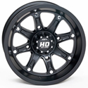 STI - 14 x 7 4/110 5+2 (HD4 Gloss Black/Machined)