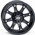 STI - 14 x 7 4/110 5+2 (Limited HD4 Matte Black)
