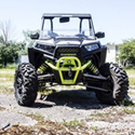 Defender Front Bumper for the Polaris RZR XP 1000