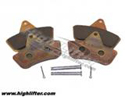 Heavy Duty F Brake Pads : Honda