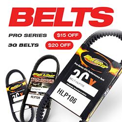 High Lifter 3GX Drive Belt for Polaris Ranger 900 RZR XP 900 1000 BELT-HLP216