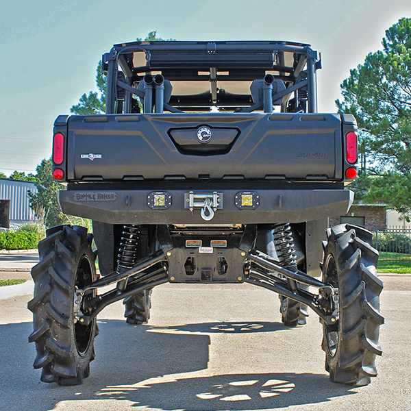 9 Quot Big Lift Can Am Defender Max Lone Star Edition With Dht