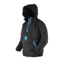 Men's Waterproof 1/2 Zip Bog 2.0 Hoodie - Black & Blue