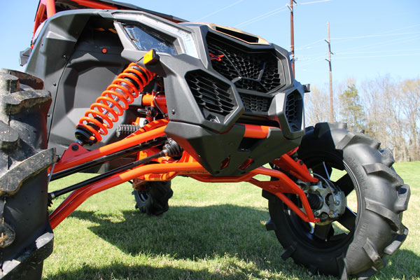 front lower control arms can am maverick x3 xrs. Black Bedroom Furniture Sets. Home Design Ideas