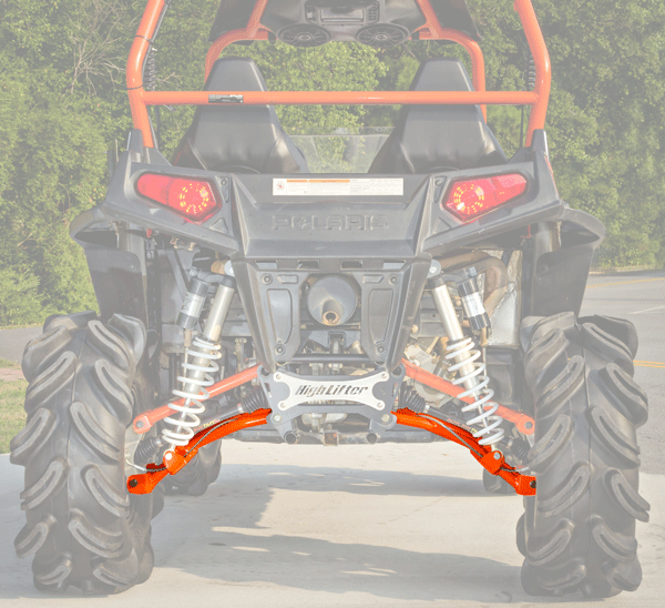 Rear Lower Control Arms for Polaris RZR 800