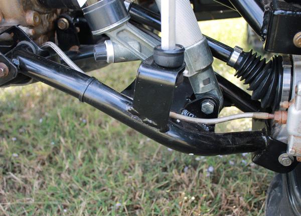 Rear Raked Upper Amp Lower Control Arm Set Polaris Scrambler