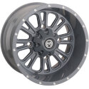 Moose 399 X Grey Wheel 14x7 4/156 4+3
