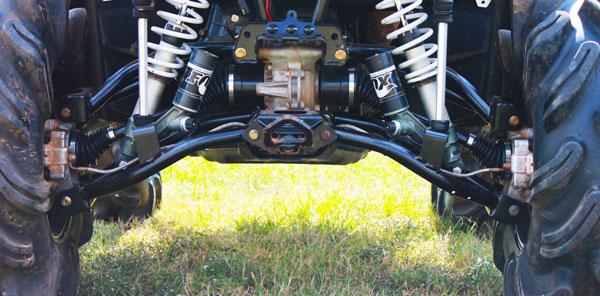 Rear Raked Upper & Lower Control Arm Polaris Scrambler/Sportsman