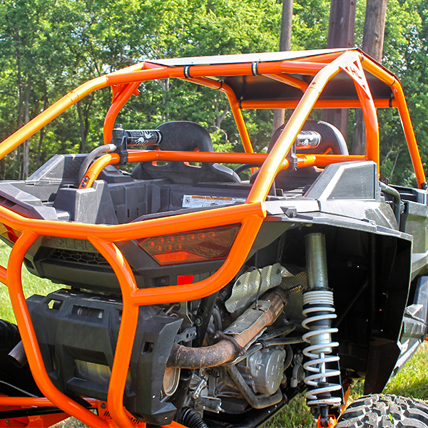 Custom Cage Bung and Bracket Kit Polaris RZR XP 1000, High Lifter Edition,  and Turbo (2 Seater Models Only)
