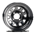 14x7 4/110 5+2 ITP Delta Steel Wheel