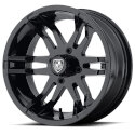 FA140 4/4 14x6.5 Flex Golf Cart Wheel