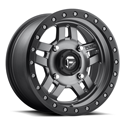 ANZA NON-BEADLOCK 4/137 15x7 4/3 MATTE ANTHRACITE CENTER / BLACK RING WHEEL