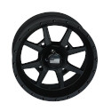 14x7 4/137 Frontline Stealth Black 556 Wheel