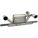 Gibson 18-19 Polaris General 1000 EPS Dual Stainless Exhaust