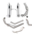 Can-Am Maverick Turbo Performance Series Brushed Dual Full System Exhaust