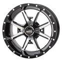 14x7 4/156 4+3 Frontline 556 Black & Machined Wheel